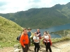 Group 1 - at the col on the Pyg Track