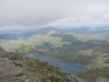Looking down on the lakes